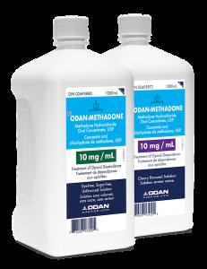 Odan Methadone bottles